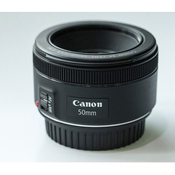 Ống kính Canon EF 50mm f1.8 STM tặng Loa che nắng