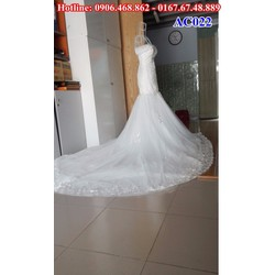 Áo cưới đuôi cá cao cấp AC022