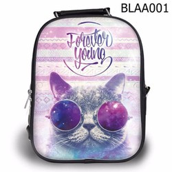 Balo Teen - Học sinh Dễ thương Mèo Đeo Kính - VBLAA001