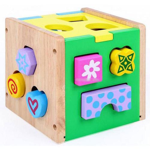 Đồ chơi hộp thả hình khối Veesano