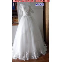Áo cưới có tay AC023