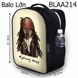 Balo Teen - Học sinh Câu nói Mèo cướp biển - VBLAA214