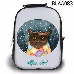 Balo Teen - Học sinh Bộ thú Mrs. Owl - VBLAA083