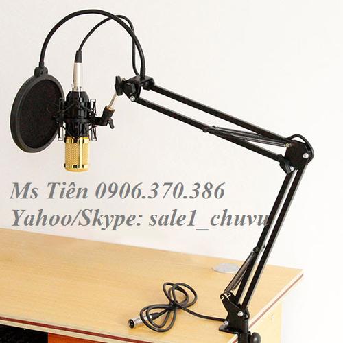 Chân micro kẹp bàn cỡ lớn NB-39