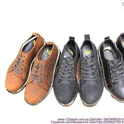 Giày da nam Doctor cổ thấp phong cách năng động GDOC16