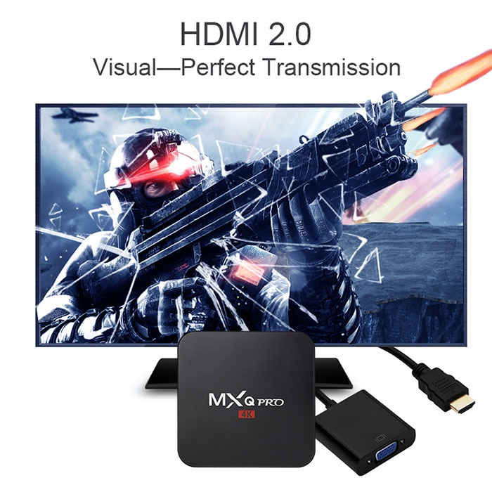 Android TV Box MXQ Pro Chip S905 9