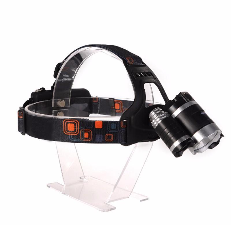 Đèn Pha đội đầu CREE T6 LED pin xịn 5000mah kem sạc 5