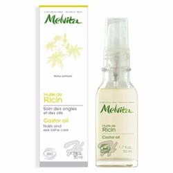 Tinh dầu thầu dầu Melvita kích thích dài mi, đậm lông mày, tóc 50ml