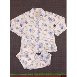 Đồ bộ nữ pyjama họa tiết hình dễ thương đáng yêu NN456