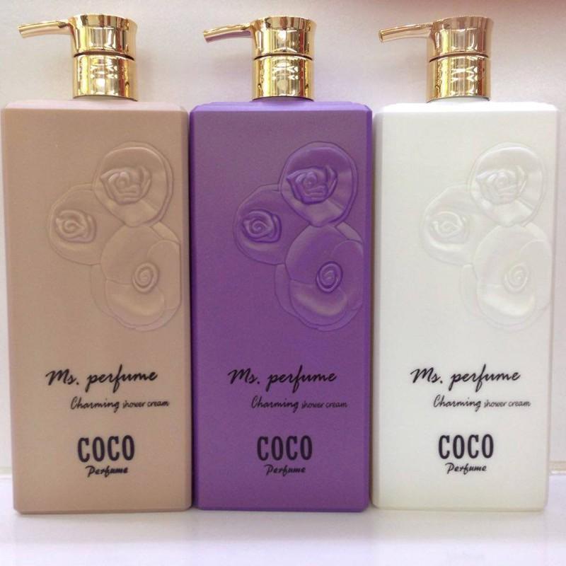 Sữa tắm coco perfume 1