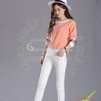 Hàng nhập – Quần Jeans co giãn cao cấp cạp cao lưng thun GLQ010