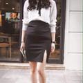Chân váy bút chì xẻ tà cực xinh