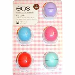 Vỉ 5 son trứng dưỡng môi EOS Lip Balm Mỹ 7gr