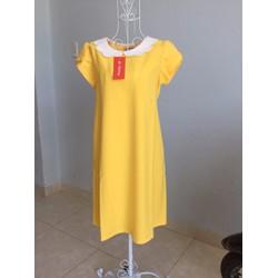 Đầm bầu công sở cổ đăng đẹp hàng thiết kế