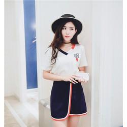 Set Bộ áo váy nữ thời trang,trẻ trung, phong cách hàn quốc-AV001