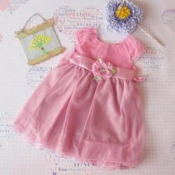 Đầm dạ hội lưới đính hoa - hàng xuất khẩu hiệu Youngland