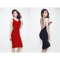 Đầm Ngọc Trinh Dây Chéo Có Mút Ngực - K180