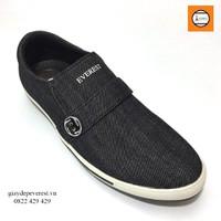 Giày Vải Thể Thao Nam EVEREST 7642Xam