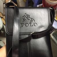 Túi da nam polo đựng ipad 10inh giá rẻ phong cách hè 2016
