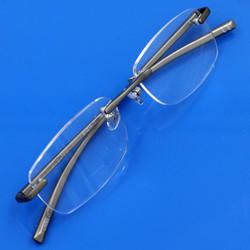 Gọng kính cận không viền nhôm Aluminium