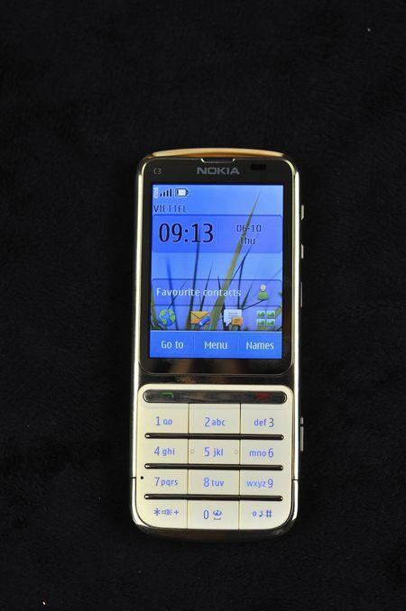 Điện thoại Nokia C3-01 gold 13