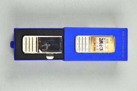 Điện thoại Nokia C3-01 gold 3