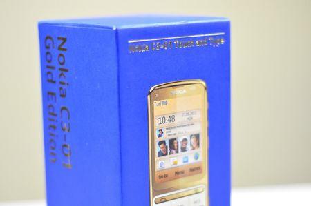 Điện thoại Nokia C3-01 gold 2