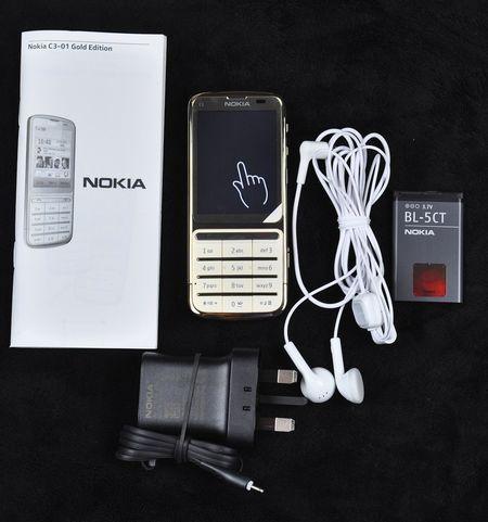 Điện thoại Nokia C3-01 gold 4