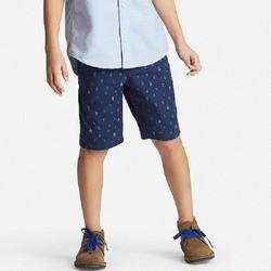 Quần short bé trai mỏ neo hãng Uniqlo màu 68 Blue - hàng nhập Nhật
