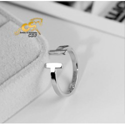 Nhẫn titanium nữ cao cấp đẹp giá rẻ mẫu TC038