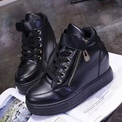 BM022D - Giày Bánh Mì Nữ đế độn cá tính