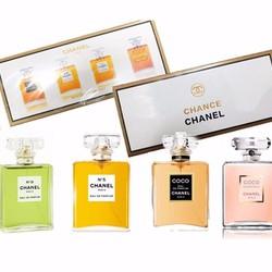 Bộ nước hoa chance 4 chai bốn hương thơm nhẹ nhàng, tinh tế-205