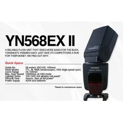 Đèn Flash Yongnuo 568EX II For Canon
