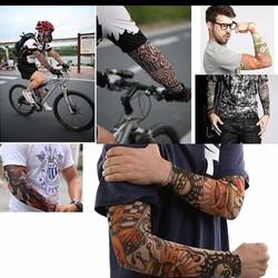 Găng Tay Hình Xăm Tattoo 1 Tay Nhiếu Kiểu Dáng