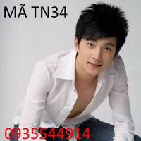 Tóc nam Hàn Quốc TN34