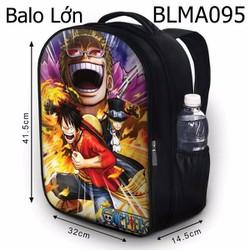 Balo học sinh Truyện tranh One Piece Luffy HOT - VBLMA095