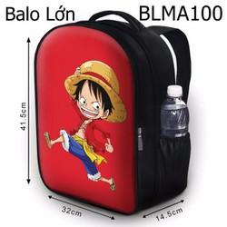 Balo Teen - Học sinh - Laptop Luffy - VBLMA100