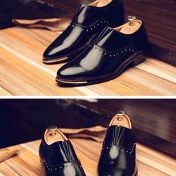 Giày tăng chiều cao da bóng cao cấp