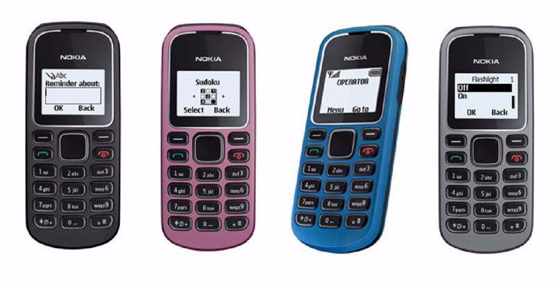Điện Thoại Nokia 1280 Kèm Pin Sạc 9