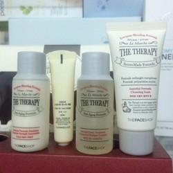 set dưỡng chống lão hóa da mini TheRapy the face shop
