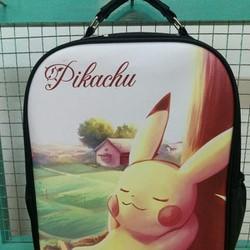 Balo giả da in hình pikachu - HP001