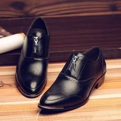 Giày tăng chiều cao da bò cao cấp