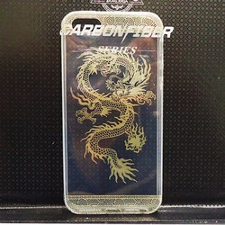 Ốp hình rồng dẻo trong iphone 5 5g