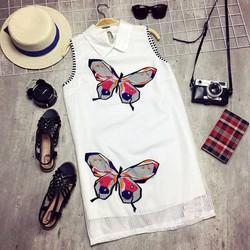 Đầm suông hình bướm xinh xắn