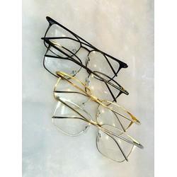 kính giả cận vuông  thời trang