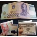 Ví in hình tiền độc đáo - Loại Tốt - Hàng Chuẩn có Hộp