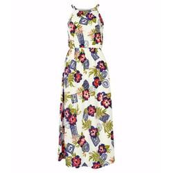 Đầm maxi hoa quyến rũ TZID43888