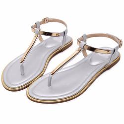 Giày sandal ốp kim loại cho bạn gái thêm phần sang trọng - 123