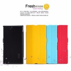 Bao da Sony Xperia Z Ultra XL36h C6802 Nillkin Fresh
