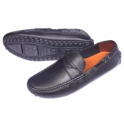 Giày lười da thật ECCO đơn giản, sang trọng
